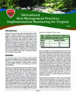 Silvicultural Best Management Practices Implementation Monitoring for Virginia - 2010