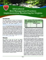 Silvicultural Best Management Practices Implementation Monitoring for Virginia - 2020