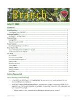 The Branch Employee Newsletter 2020-07-27