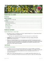 The Branch Employee Newsletter 2020-09-14