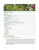The Branch Employee Newsletter 2020-11-04