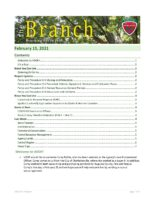 The Branch Employee Newsletter 2021-02-15