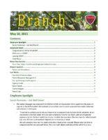 The Branch Employee Newsletter 2021-05-10