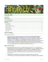 The Branch Employee Newsletter 2021-06-28