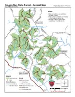 Dragon Run State Forest - General Map