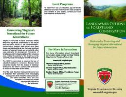Landowner Options for Forestland Conservation
