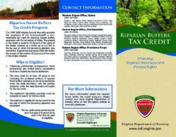 Riparian Buffers Tax Credit