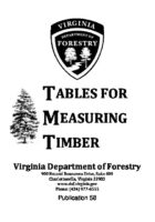 Tables For Measuring Timber