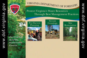 Protect VA's Water Resources Through Best Management Practices - 10 ft. (HQ) - 1