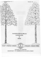 No. 002 Yellow-Poplar Growth and Yield Data on Selected Stands in Virginia; by R. L. Marler