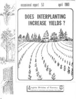 No. 053 Does Interplanting Increase Yield?; by T. A. Dierauf, J. W. Garner and H.L. Olinger