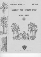 No. 067 Loblolly Pine Release Study Report No. 3; by T. A. Dierauf