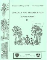 No. 078 Loblolly Pine Release Study Report No. 11; by T. A. Dierauf