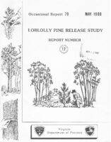 No. 079 Loblolly Pine Release Study Report No. 12; by T. A. Dierauf