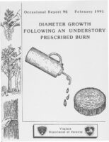 No. 096 Diameter Growth Following an Understory Prescribed Burn; by T. A. Dierauf