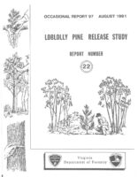 No. 097 Loblolly Pine Release Study Report No. 22; by T. A. Dierauf