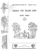 No. 098 Loblolly Pine Release Study Report No. 23; by T. A. Dierauf